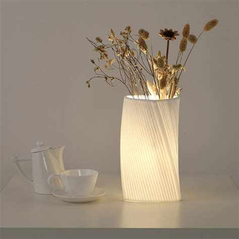 DIY Table Lamp From Vase
